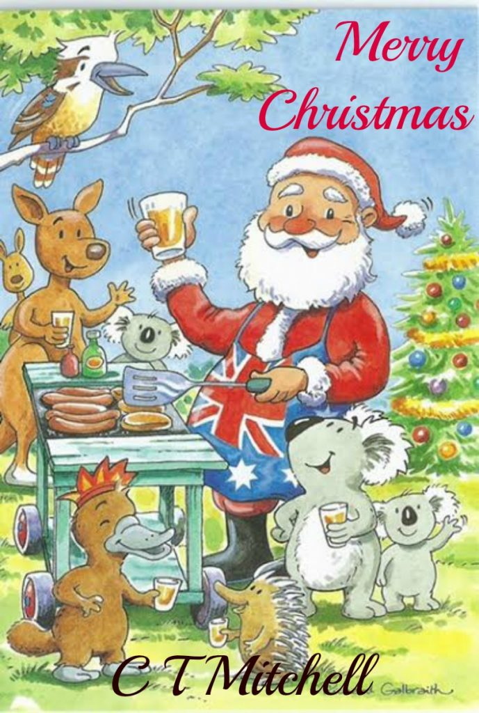 Christmas In Australia Cartoon.Merry Christmas From Australia Best Mystery Books