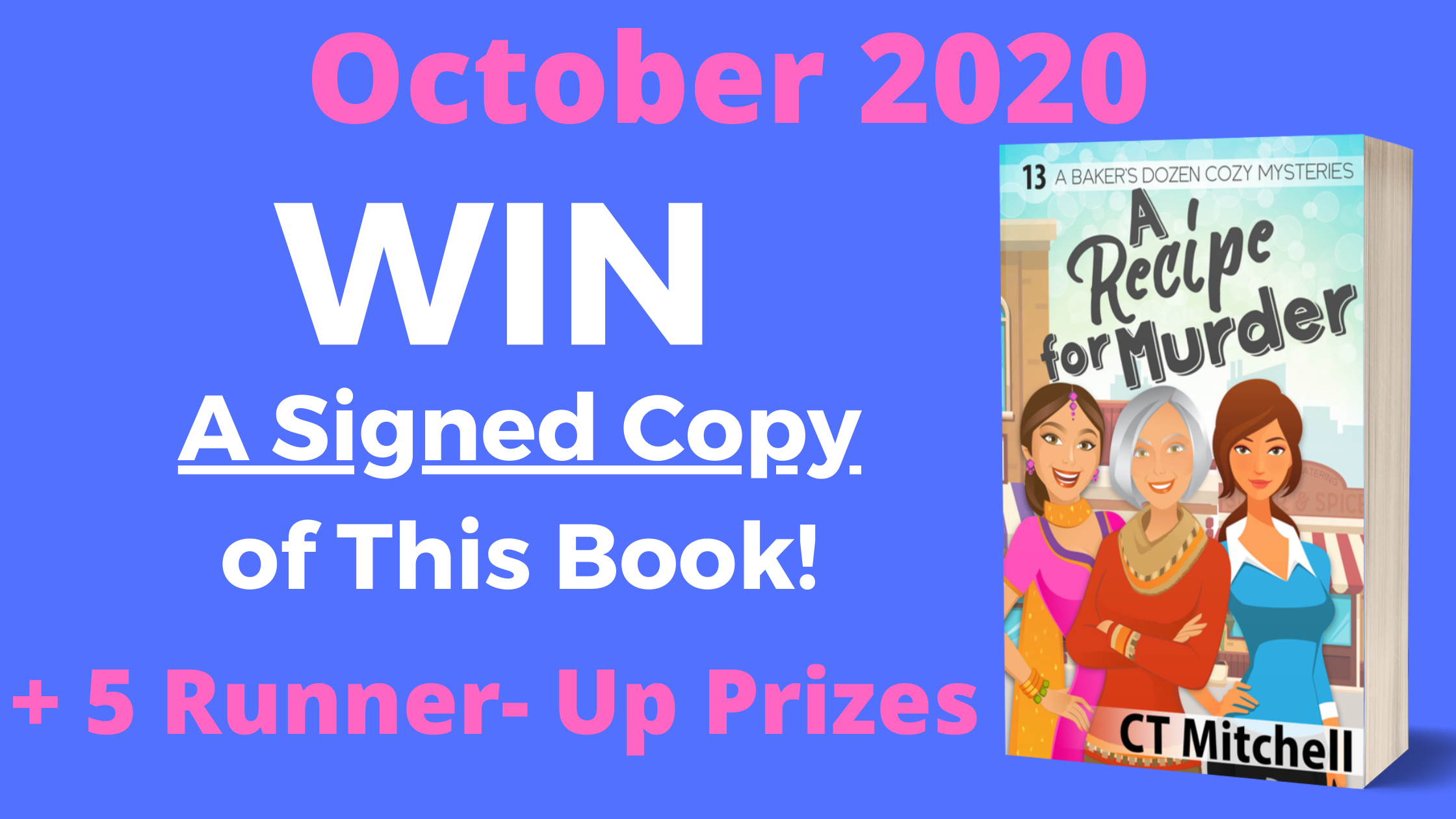 October 2020 Contest - Free Book Giveaways